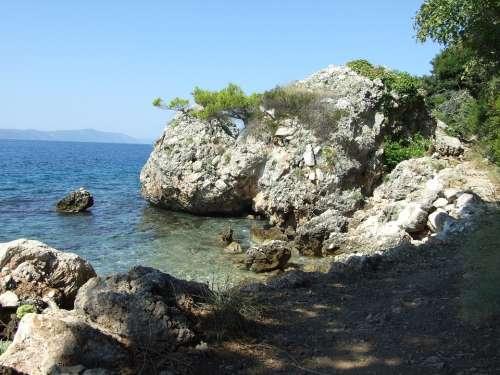 Landscape Coast Croatia
