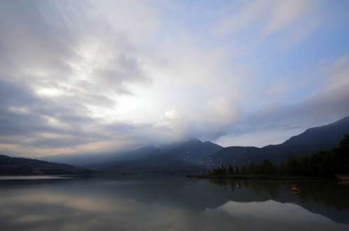 Landscape Clouds Dawn Sky Nature Water Reflection