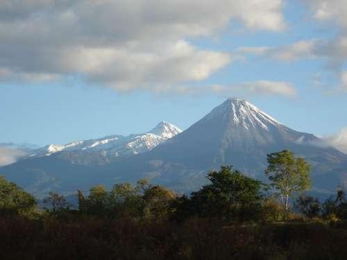 Landscape Nevado Mountains Winter