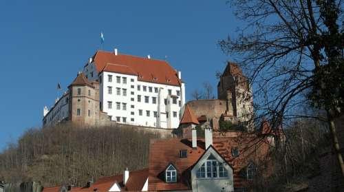 Landshut City Bavaria Historically Trausnitz Castle