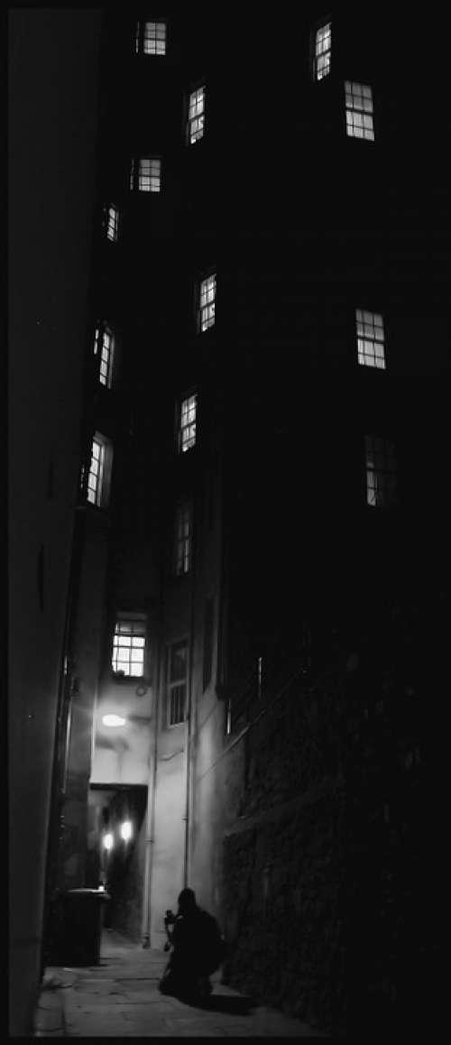 Lane Night Architecture