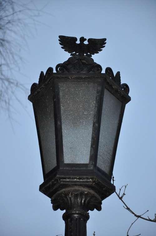 Lantern Evening Melancholia Park