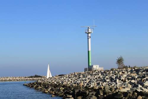 Lantern Marine The Coast Sea The Baltic Sea Poland