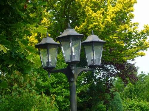 Lantern Street Lamp Summer
