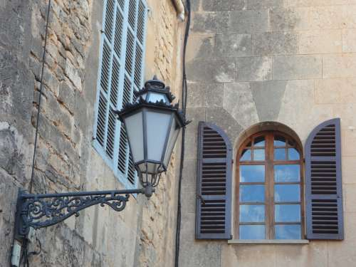 Lantern Lighting Street Lamp Lamp Window Building