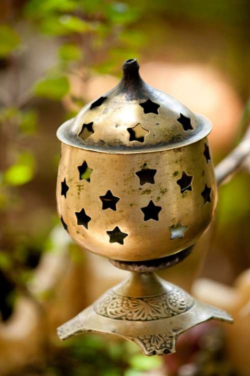 Lantern Candle Stars Ornament Decoration