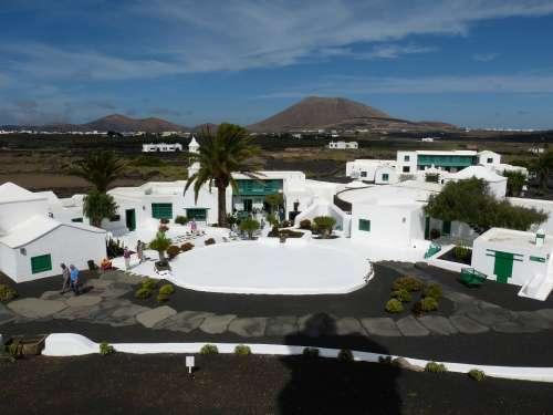 Lanzarote Canary Islands Landscape Nature Spain