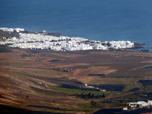 Lanzarote Canary Islands Landscape Nature Spain