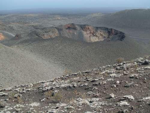 Lanzarote Magma Volcano