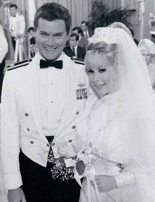 Larry Hagman Barbara Eden Actor Actress Television
