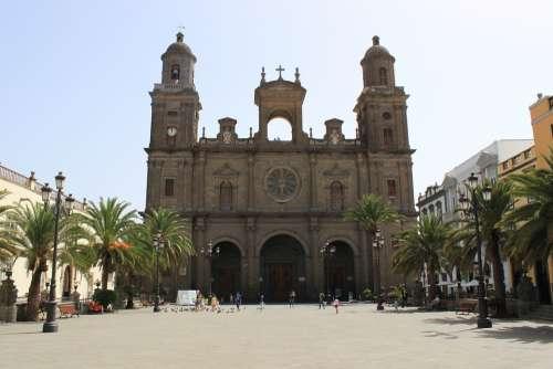 Las Palmas Cathedral Gran Canaria Spain