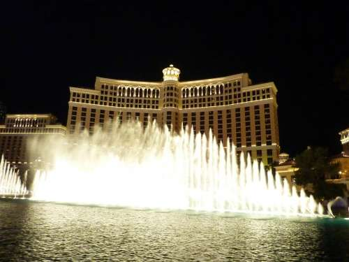 Las Vegas Bellagio Fountain Fountains