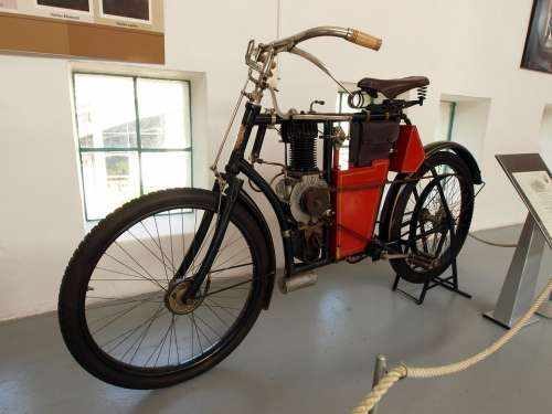 Laurin And Klement 1903 Cycle Motorcycle Old