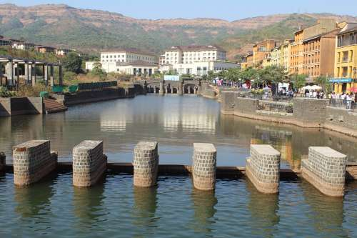 Lavasa City Lake India River Udaipur