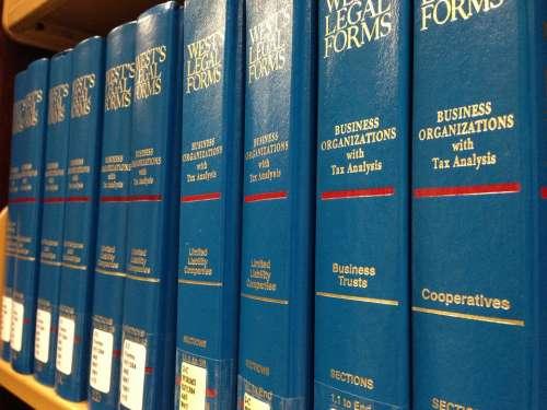 Law Books Legal Books Library Aqua Marine Blue