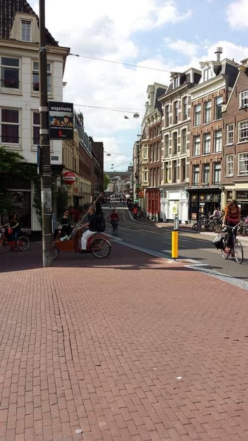 Leidsestraat Amsterdam City Urban