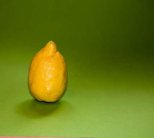 Lemon Fruit Yellow Sour Tart