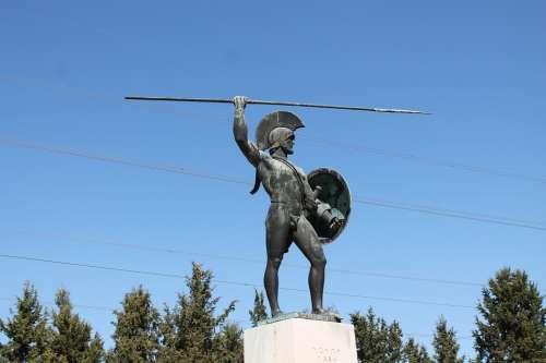 Leonidas Thermopiles Greece
