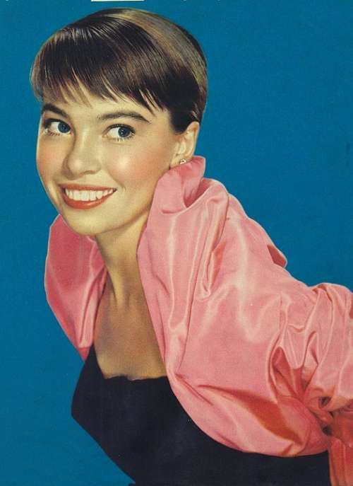 Leslie Caron Actress Vintage Movies Motion Pictures
