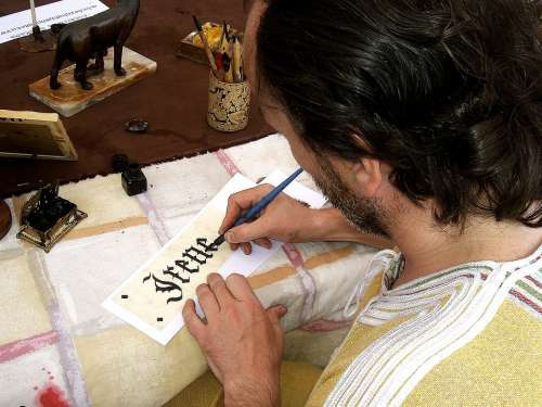Letter Romantic Name Woman Sign Write Writing