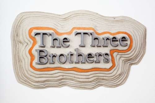 Letters Text The Three Brothers Three Dimensional