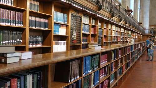 Library Books Read University New York