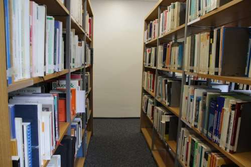 Library Books Shelf Education Knowledge Learn