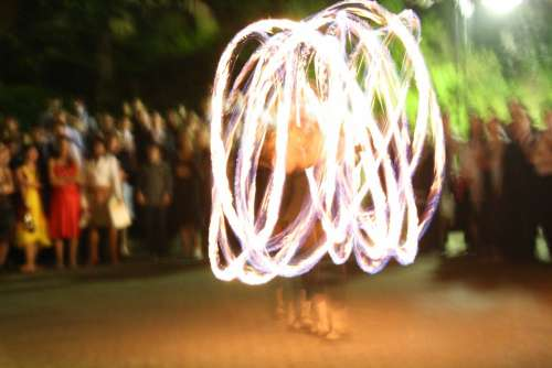 Lichtspiel Fire Circles Of Light