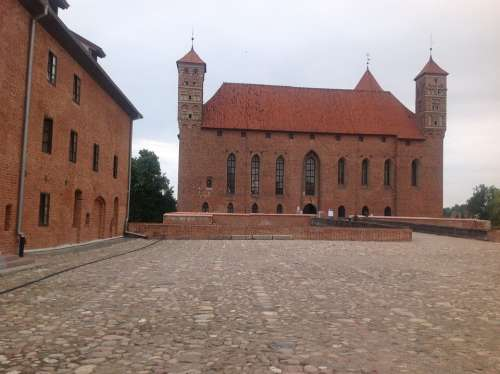 Lidzbark Warminski Poland Castle Knights Knight