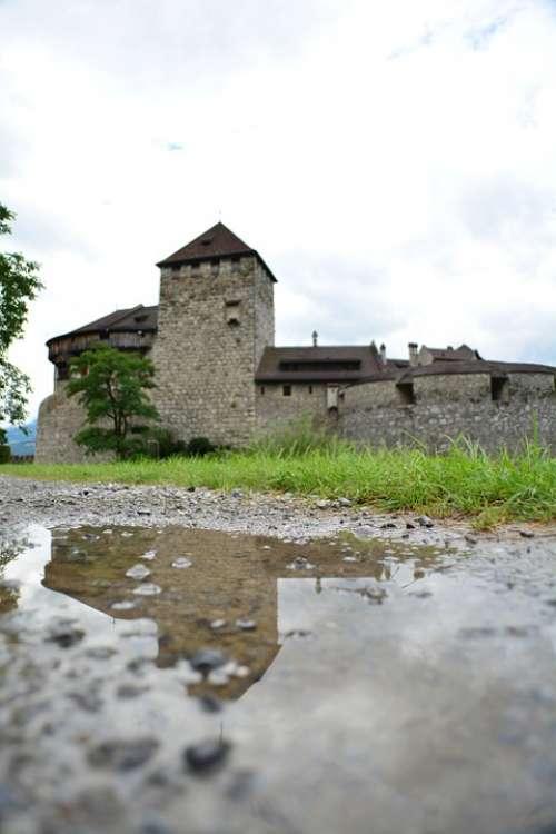 Liechtenstein City Buildings Castle