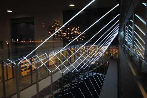 Light Installation Art Architecture