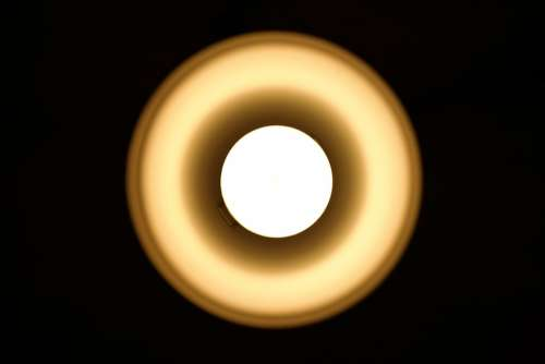 Light Bulb Lamp Light Night Table Lamp Led