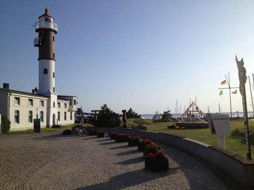 Lighthouse Timmendorf Baltic Sea Evening