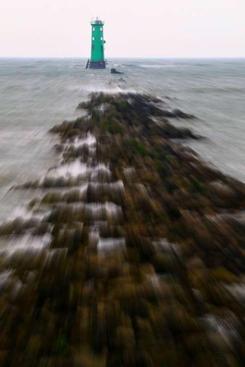Lighthouse Beacon Ocean Tower Maritime Beach Sea