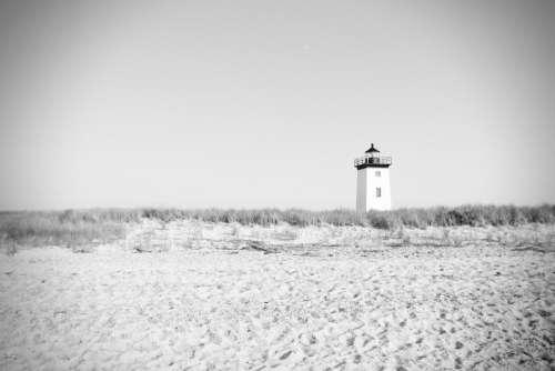 Lighthouse Tower Beacon Light Navigation Coast