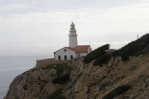 Lighthouse Canary Islands La Reptiles Trail Island