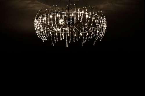 Lighting Chandelier Light Grosbeak Crystal