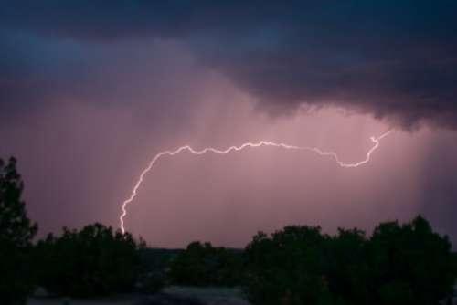 Lightning Thunderbolt Thunderstorm Storm Flash