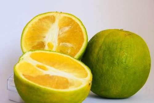 Lime Cut Fruit Citrus Green Food Healthy Fresh