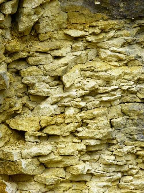 Limestone White Jura Layered Gebankt Lime Quarry