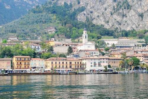 Limone Garda Italy Coast Port