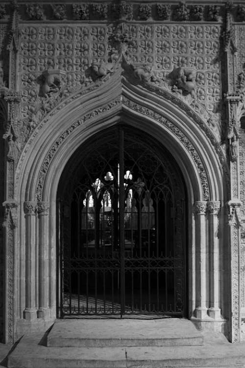 Lincoln Cathedral Architecture Rood Screen Britain