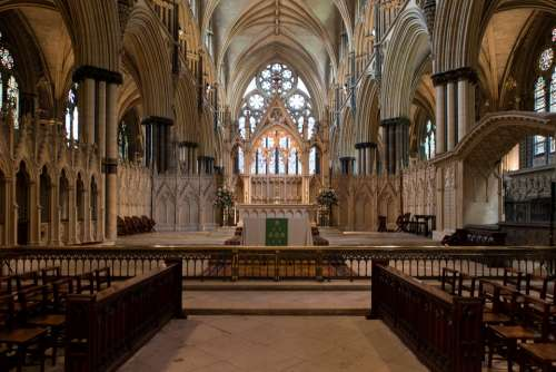 Lincoln Cathedral Altar Communion Rail