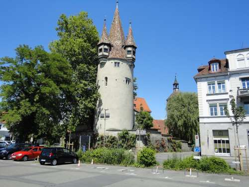 Lindau Lake Constance Bavaria Tower Vacations