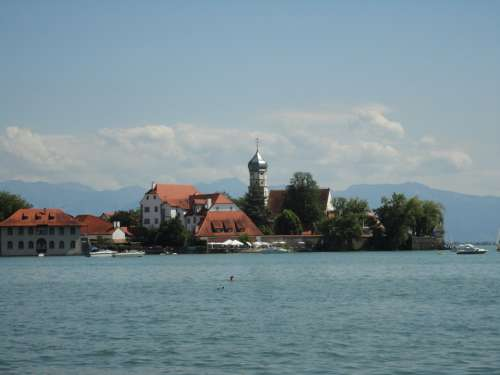 Lindau Lake Constance Bavaria Vacations Island