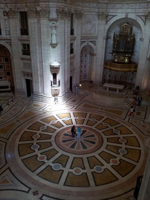 Lisbon Pantheon Inside