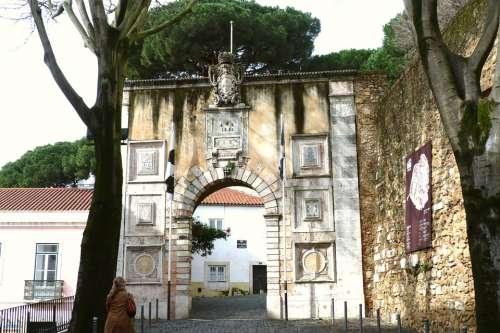 Lisbon Goal Castle Castello Sao Jorge