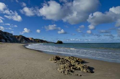 Litoral Landscape Mar Horizon Cloud Beach Sol