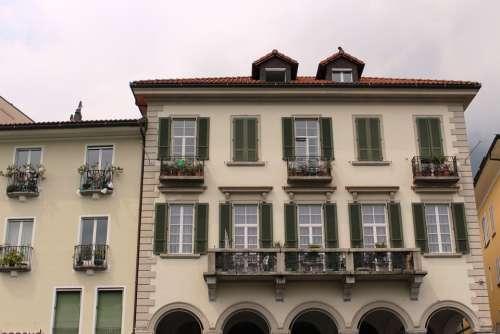 Locarno Architecture Arcades Architectural Style