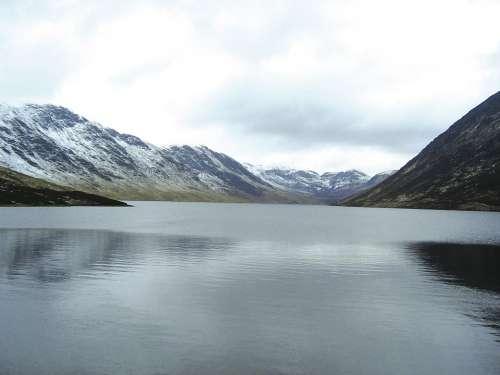Loch Turret Crieff Comrie Perthshire Loch Water